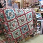 nouveau kit de quilt chez Bouts de Tissus Rueil