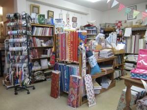 un large choix de tissus pour patchwork
