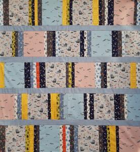 Tori notre nouveau kit, inspiré par la collection de tissu Neko and Tori